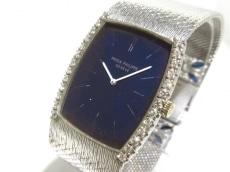 PATEK PHILIPPE(パテックフィリップ) -/アンティーク/金無垢/ダイヤベゼル/ダイヤ&サファイアベルト(2PD0.5ct/8PS1.80ct) 腕時計 買取実績