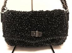 ANTEPRIMA(アンテプリマ) ショルダーバッグ美品  ワイヤーバッグ 黒