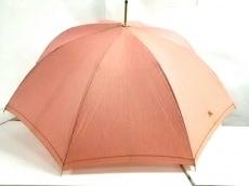 Burberry(バーバリー) 傘 - - レッド 晴雨兼用傘 化学繊維×金属素材