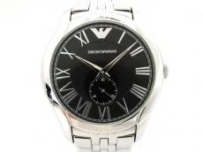 EMPORIOARMANI(アルマーニ) 腕時計美品  AR-1706 メンズ 黒