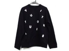 ルイヴィトンのレターエンブロイダリースウェットシャツ