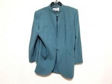 ジュンアシダ ジャケット サイズ9 M レディース美品  ブルーグリーン