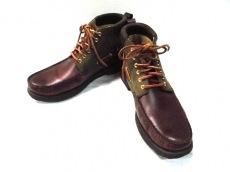サンヨウヤマチョウのブーツ