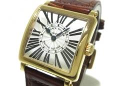 FRANCK MULLER(フランクミュラー) 腕時計 マスタースクエア 6002SQZ