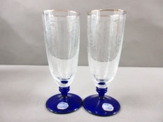 ラスカボヘミアガラスの食器