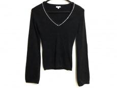 トッカ 長袖セーター サイズS レディース 黒×白 スパンコール