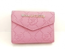 Maison de FLEUR(メゾンドフルール)のWホック財布