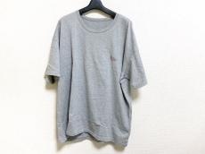 Papas(パパス) 半袖Tシャツ サイズLL メンズ美品  グレー×レッド