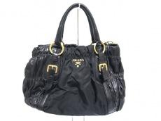 PRADA(プラダ)のギャザーバッグのトートバッグ