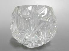 ティファニー 小物美品  クリア キャンドルホルダー ガラス