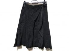 トリココムデギャルソン スカート サイズM レディース 黒 刺繍
