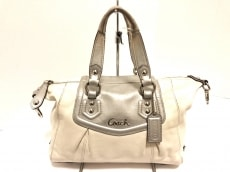 COACH(コーチ)のアシュレイ レザー サッチェルのハンドバッグ