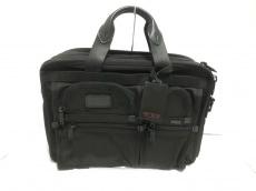 TUMI(トゥミ) ビジネスバッグ美品  26141DH 黒 ナイロン×レザー