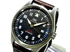 IWC(INTERNATIONAL WATCH CO) 腕時計美品  IW326803 メンズ 黒