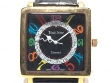 ブラックジョーカーの腕時計