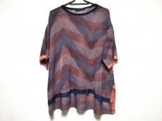 ヒロココシノ 半袖セーター サイズ38 M レディース美品