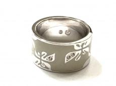 スワロフスキー リング美品  金属素材×スワロフスキークリスタル