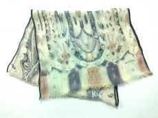 ETRO(エトロ) スカーフ美品  アイボリー×マルチ