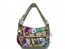 COACH(コーチ)のポピー ポップカラーコレクション グルービーのハンドバッグ