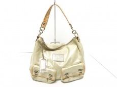 COACH(コーチ)のポピー スパークルレザースウィングのハンドバッグ