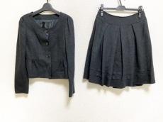 アンタイトル スカートスーツ サイズ2 M レディース美品  プリーツ