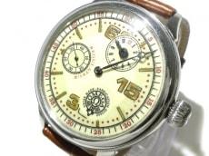 オメガ 腕時計 レギュレーター メンズ アンティーク/社外ベルト/要OH