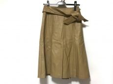 ダーマコレクション ロングスカート サイズS レディース レザー