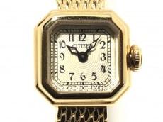 CITIZEN(シチズン) 腕時計 4520-S052637 レディース アイボリー