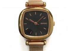 コモノの腕時計