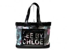 SEE BY CHLOE(シーバイクロエ)のジップファイルのトートバッグ