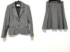 COURREGES(クレージュ) スカートスーツ サイズ40 M レディース美品