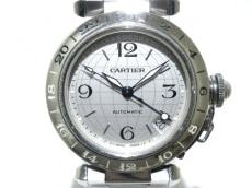Cartier(カルティエ)のパシャCメリディアンGMT 2タイムゾーン