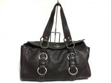 COACH(コーチ)のチェルシー レザー サッチェルのハンドバッグ