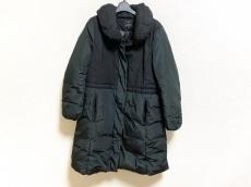 23区(ニジュウサンク) ダウンコート サイズ46 XL レディース 黒