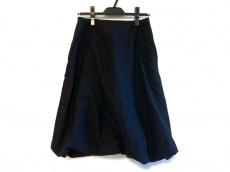 ホームスパンのスカート