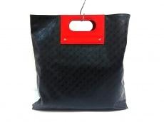 GHERARDINI(ゲラルディーニ) トートバッグ美品  黒×レッド
