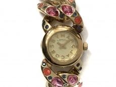マークジェイコブス 腕時計 MBM3144 レディース ビジュー ゴールド