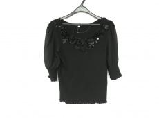 トゥービーシック 半袖セーター サイズ2 M レディース新品同様  黒