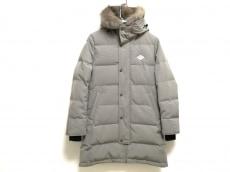 ダントン ダウンコート サイズ36 S レディース - カーキ 長袖/冬