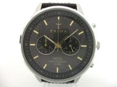 TRIWA(トリワ) 腕時計美品  NEST114 ボーイズ 革ベルト/クロノグラフ