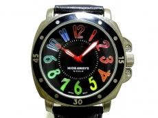 ハイダウェイニコルの腕時計
