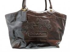 COACH(コーチ)のブリーカーパテントレザーラージトートのトートバッグ