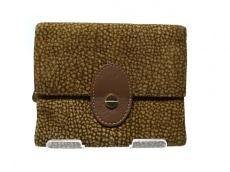 レッドウォールボルボネーゼの3つ折り財布