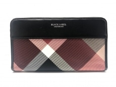 ブラックレーベルクレストブリッジの長財布
