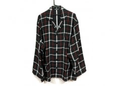バレンシアガのパジャマポケットオーバーサイズチェックシャツ