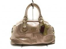 COACH(コーチ)のマディソン メタリック レザーサブリナのハンドバッグ