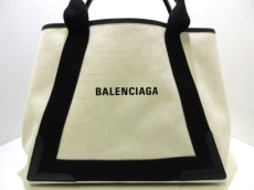 BALENCIAGA(バレンシアガ)のネイビー ニューミディアム カバスバッグ