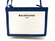 BALENCIAGA(バレンシアガ)のネイビーポシェット