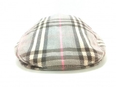 バーバリーブルーレーベルの帽子