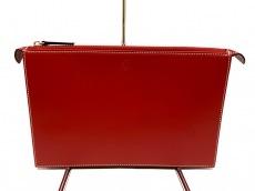 フェラーリのセカンドバッグ
